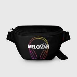 Поясная сумка Meloman цвета 3D-принт — фото 1