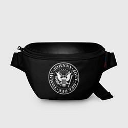 Поясная сумка The Ramones цвета 3D-принт — фото 1