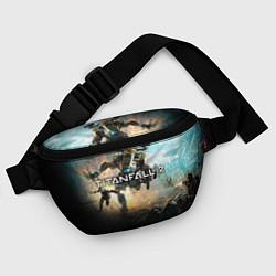 Поясная сумка Titanfall Battle цвета 3D — фото 2