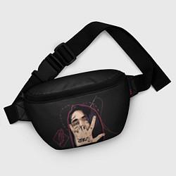 Поясная сумка Face Star цвета 3D-принт — фото 2