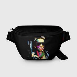 Поясная сумка Terminator Art цвета 3D-принт — фото 1
