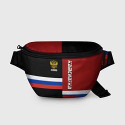 Поясная сумка Kamchatka, Russia цвета 3D-принт — фото 1