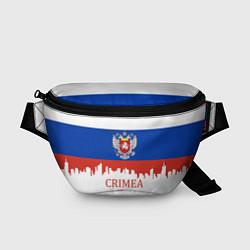Поясная сумка Crimea, Russia цвета 3D-принт — фото 1