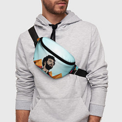Поясная сумка Salah: Egypt King цвета 3D-принт — фото 2