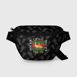 Поясная сумка GUSSI Style цвета 3D — фото 1