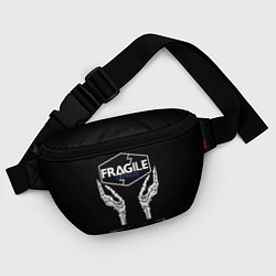 Поясная сумка Death Stranding: Fragile Express цвета 3D-принт — фото 2