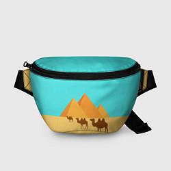 Поясная сумка Пирамиды Египта цвета 3D — фото 1