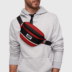 Поясная сумка IKON Stripes цвета 3D — фото 2
