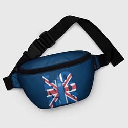 Поясная сумка London: Great Britain цвета 3D-принт — фото 2