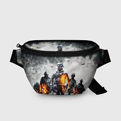 Поясная сумка Battlefield цвета 3D-принт — фото 1