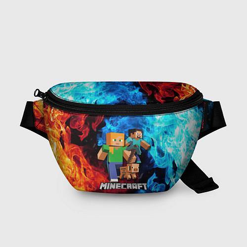 Поясная сумка Minecraft Майнкрафт / 3D-принт – фото 1