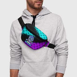 Поясная сумка Brawl stars leon оборотень цвета 3D — фото 2