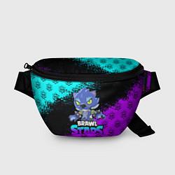 Поясная сумка Brawl stars leon оборотень цвета 3D — фото 1