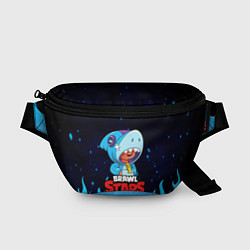 Поясная сумка BRAWL STARS LEON SHARK цвета 3D — фото 1