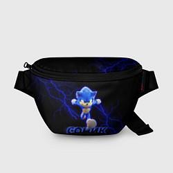Поясная сумка СОНИК цвета 3D-принт — фото 1