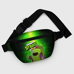 Поясная сумка Brawn stars Spike Спайк цвета 3D — фото 2