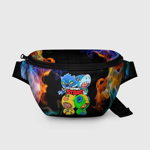 Поясная сумка Brawl Stars Leon Quattro / 3D – фото 1