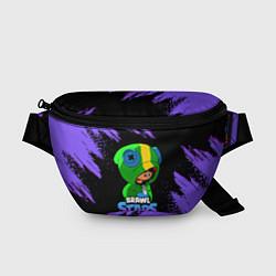 Поясная сумка Brawl Stars LEON цвета 3D — фото 1