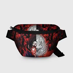 Поясная сумка Итачи Учиха Наруто цвета 3D-принт — фото 1
