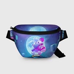 Поясная сумка Сквик Squeak Brawl Stars цвета 3D — фото 1
