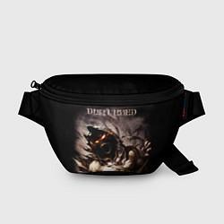 Поясная сумка Disturbed цвета 3D-принт — фото 1