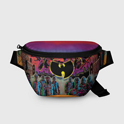 Поясная сумка Wu-Tang Clan: City цвета 3D-принт — фото 1