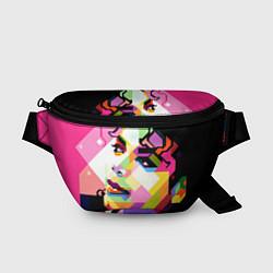Поясная сумка Michael Jackson Art цвета 3D — фото 1