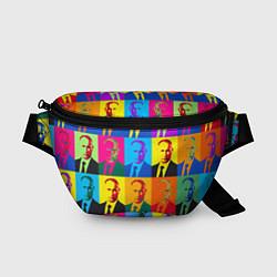 Поясная сумка Путин Владимир цвета 3D — фото 1