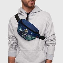 Поясная сумка Nickelback: Chad Kroeger цвета 3D-принт — фото 2