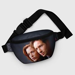 Поясная сумка Скалли и Малдер цвета 3D — фото 2