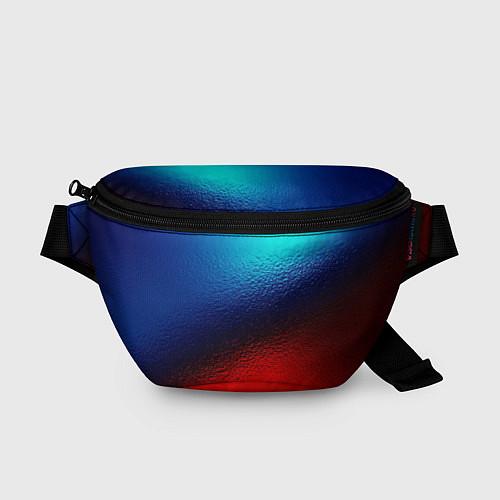 Поясная сумка Синий и красный / 3D – фото 1