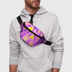 Поясная сумка Texture цвета 3D — фото 2