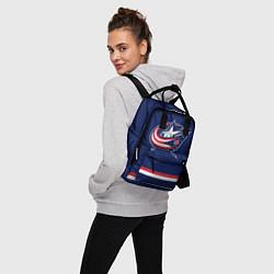 Рюкзак женский Columbus Blue Jackets цвета 3D — фото 2