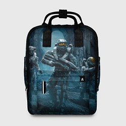 Рюкзак женский Halo wars цвета 3D-принт — фото 1