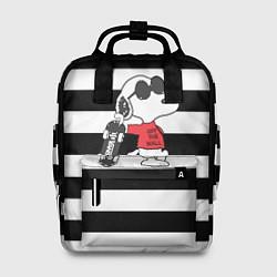 Рюкзак женский Vans Doggy цвета 3D — фото 1