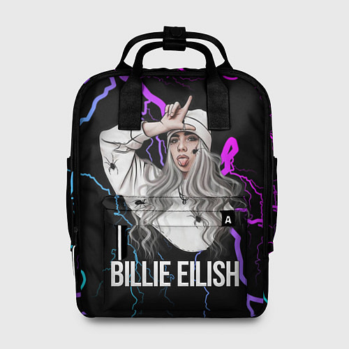 Женский рюкзак BILLIE EILISH / 3D – фото 1