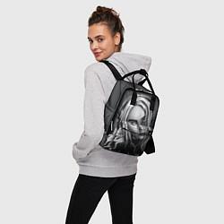 Женский городской рюкзак с принтом BILLIE EILISH, цвет: 3D, артикул: 10201691705839 — фото 2