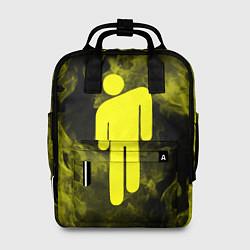 Женский городской рюкзак с принтом BILLIE EILISH, цвет: 3D, артикул: 10201693505839 — фото 1