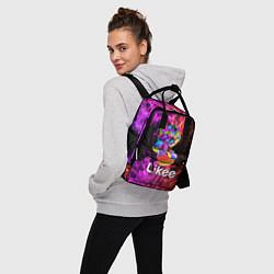 Рюкзак женский Likee LIKE Video цвета 3D — фото 2