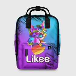 Рюкзак женский Likee LIKE Video цвета 3D — фото 1