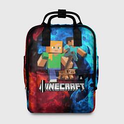 Женский рюкзак Minecraft Майнкрафт