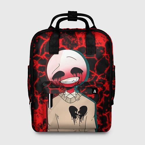 Женский рюкзак CountryHumans / 3D – фото 1