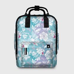 Рюкзак женский Mulan Flowers Pattern цвета 3D-принт — фото 1