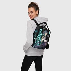 Рюкзак женский XIAO цвета 3D-принт — фото 2