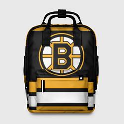 Рюкзак женский Boston Bruins цвета 3D-принт — фото 1