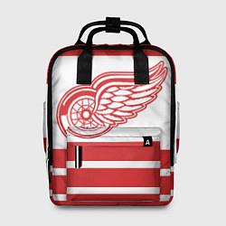 Рюкзак женский Detroit Red Wings цвета 3D-принт — фото 1