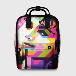 Рюкзак женский Michael Jackson Art цвета 3D — фото 1
