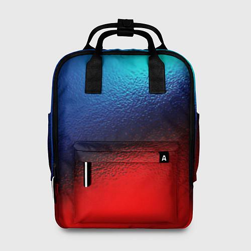 Женский рюкзак Синий и красный / 3D – фото 1