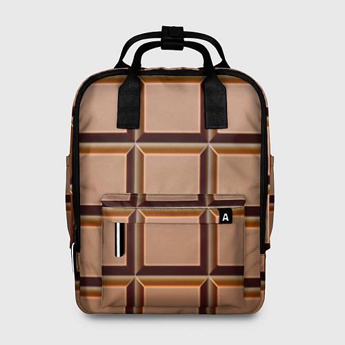 Женский рюкзак Шоколад / 3D – фото 1