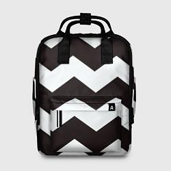 Рюкзак женский Полосы цвета 3D — фото 1